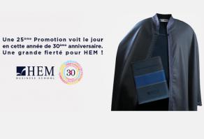 HEM donne naissance à sa 25ème Promotion en cette année de 30ème anniversaire !