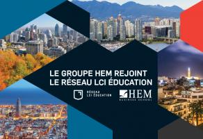 Le Groupe HEM rejoint le réseau LCI Éducation
