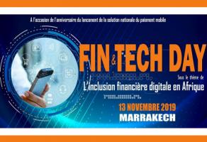 Journée nationale de la finance digitale « FIN&TECH DAY 2019 » à Marrakech