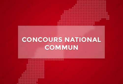 CNC : Concours National Commun
